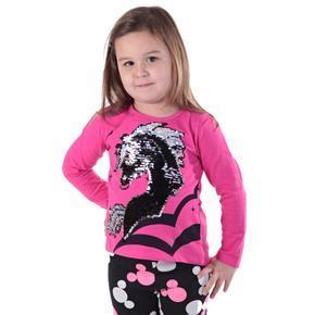 Růžové měnící tričko Billy