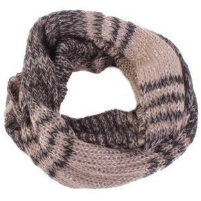 Tunelový šátek Zita hnědý