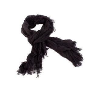 Jednobarevný šátek Ema černý