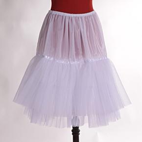 Biela spodnička Zuzana pod sukne a šaty