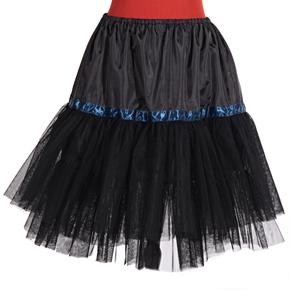 Čierna spodnička Manky pod sukne a šaty
