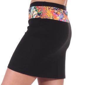 Dámska mini sukňa Grafity