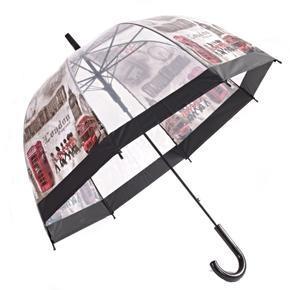 Průhledný deštník Stráž