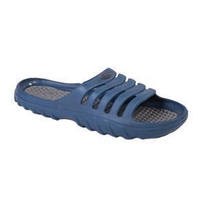 Nadměrné pánské gumové pantofle Sport modré