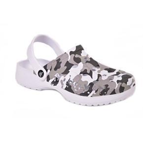 Pánské gumové boty Army černé