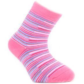 Zimní dětské ponožky Ema růžové