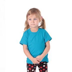 Tričko krátky rukáv Laura tmavo modré 98-116
