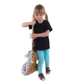 Čierne detské tričko krátky rukáv Laura od 122-146