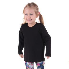 Detské tričko dlhý rukáv Marlen čierne od 98-116