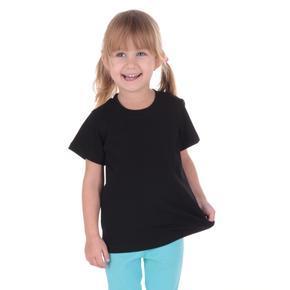 Čierne detské tričko krátky rukáv Laura od 98-116