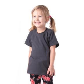 Šedé detské tričko krátky rukáv Laura od 122-146