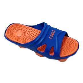 Pánské gumové pantofle Tomas oranžové