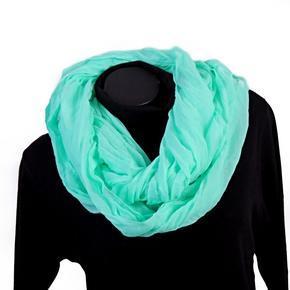 Jednobarevný šátek Leon