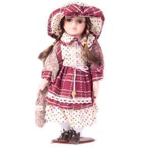 DOLL porcelánová panenka Odeta 30 cm
