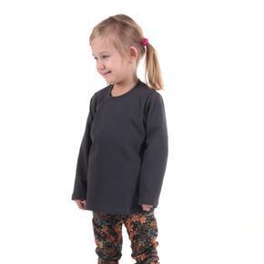 Detské tričko dlhý rukáv Marlen šedej od 122-146