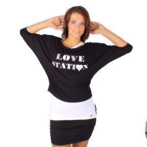 Trendy tričko s tielkom Heidy