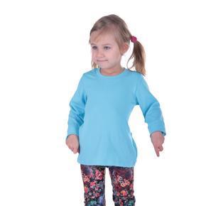 Tričko dlhý rukáv Marlen svetlo modré od 122-146