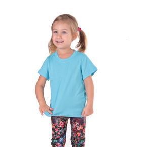 Tričko krátky rukáv Laura svetlo modré od 122-146