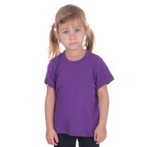 Fialové detské tričko krátky rukáv Laura od 122-146