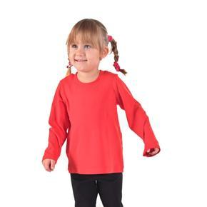 Detské tričko dlhý rukáv Marlen červené od 98-116