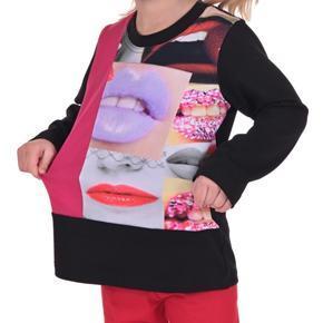 Tričko s potlačou pusiniek Kiss od 98-116