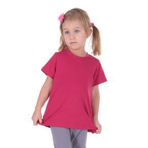 Ružové detské tričko krátky rukáv Laura od 122-146