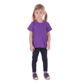 Fialové detské tričko krátky rukáv Laura od 98-116