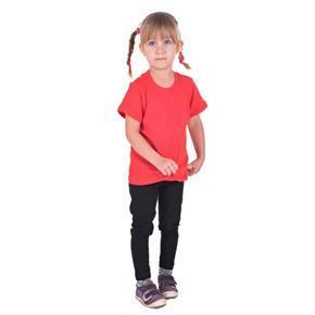 Červené detské tričko krátky rukáv Laura od 98-116