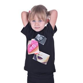 Dievčenské tričko s modernou nášivkou Rozalie od 122-146