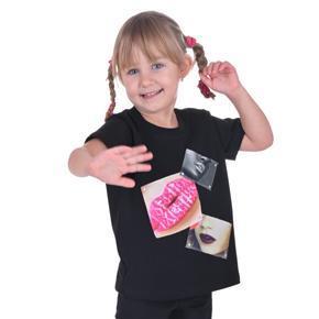 Dievčenské tričko s modernou nášivkou Rozalie od 98-116