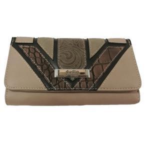 Hnědá luxusní dámská peněženka Ellini
