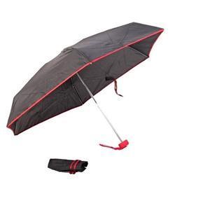 Skladací mini dáždnik Marko červený