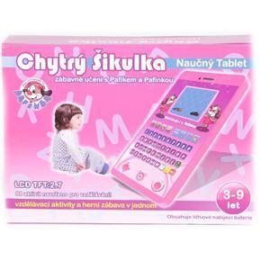 Naučný vzdělávací tablet česky mluvící Dyk růžový