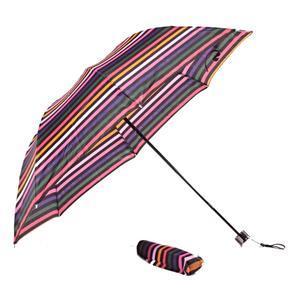 Skladací dáždnik Proužky barevný