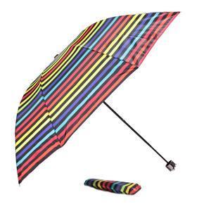Skladací dáždnik Proužky červený