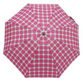 Skladací mini dáždnik Puntík růžový