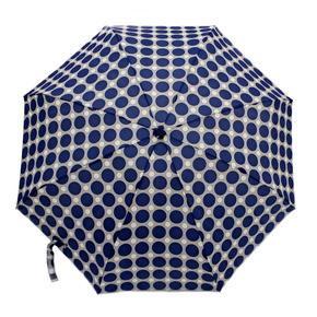 Skladací mini dáždnik Puntík světlo modrý
