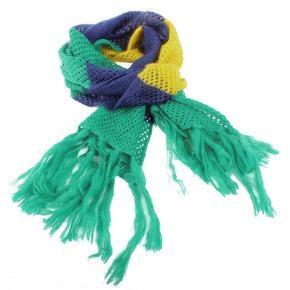 Pletená šála Irina zelená