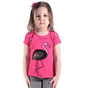 Ružové bavlnené tričko Alex