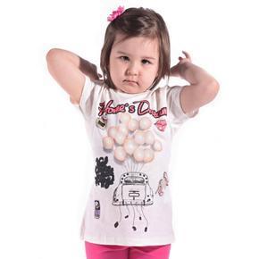 Dívčí moderní letní tričko Deric