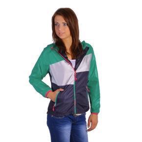 Šušťáková bunda Debby tmavo zelená
