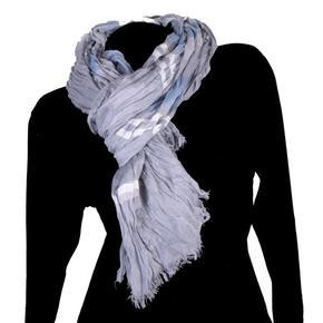 Moderní šátek Lilia modrý