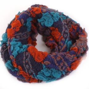 Dámský zimní šátek Melissa oranžový