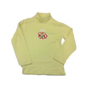 Dětský žlutý rolák Linda - 98