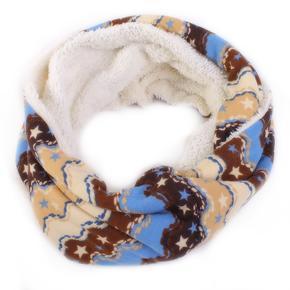 Vzorovaný šátek Holly hnědý