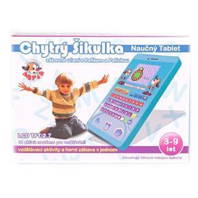 Naučný vzdělávací tablet česky mluvící Dyk modrý