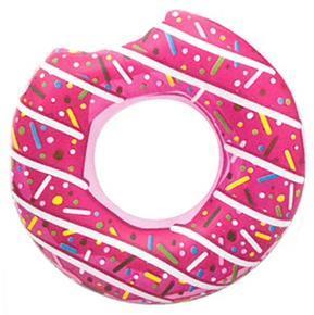 Nafukovací kruh 107cm Donut růžový
