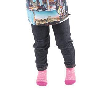 Nohavicové dievčenské legíny Ketty čierne