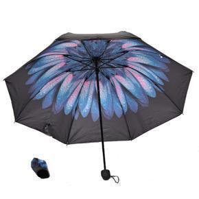 Dámský skládací deštník Scarlet mordorůžový