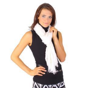 Bilý slabý šátek Ema
